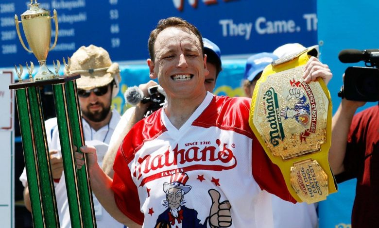 Joey Chestnut is massive favorite to win Nathan's Famous Fourth of July Hot Dog-Eating Contest