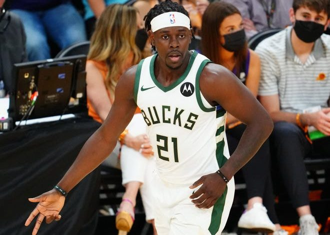 Jrue Holiday and the Bucks are one win away from the franchise's first NBA title in 50 years.