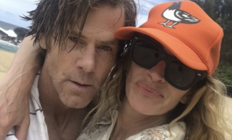 Julia Roberts shares rare selfie with husband Danny Moder to celebrate their wedding anniversary