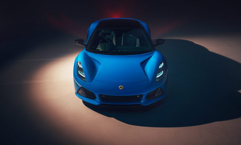 Lotus unveils Emira sports car as 'last hurrah' before switch to EVs