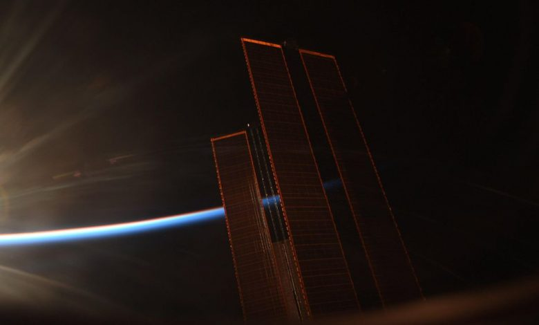 Magnificent photo of the space station at sunrise will take your breath away