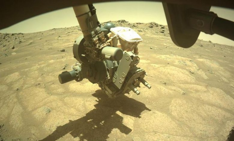 Mars Perseverance rover investigates 'garden pavers' in ancient lakebed