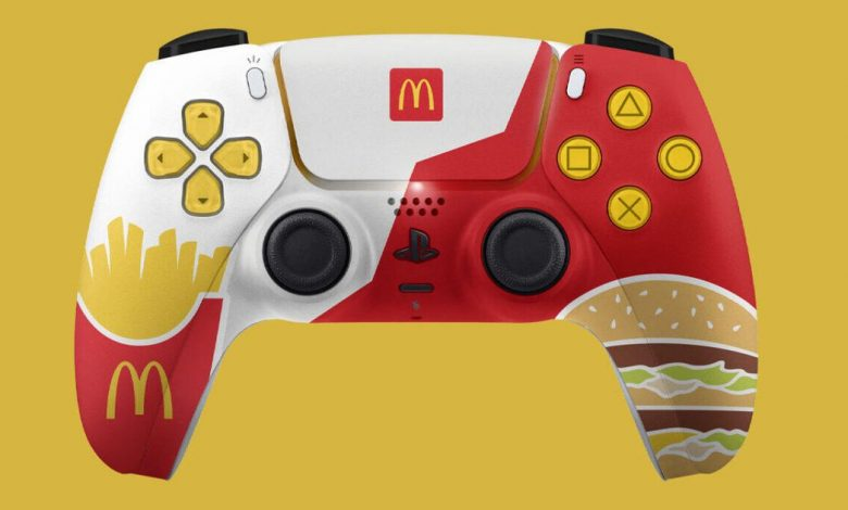 McDonald's made a shockingly attractive PS5 controller, apparently