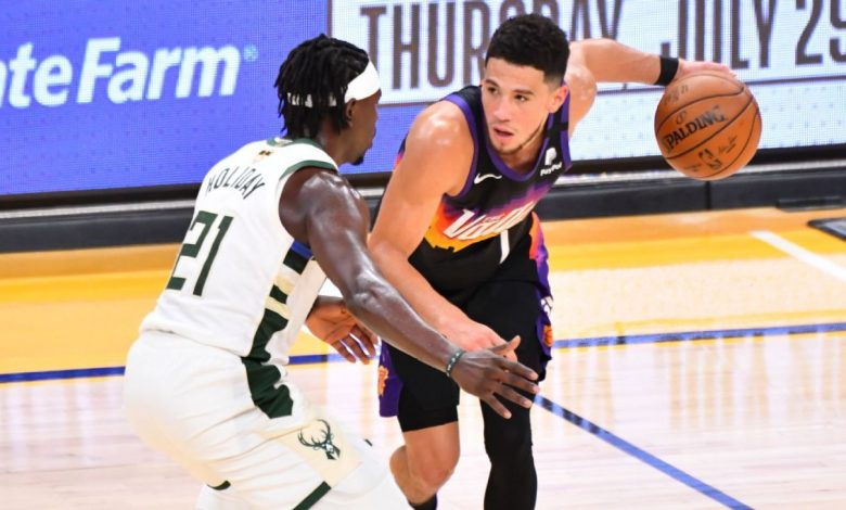 Milwaukee Bucks' Jrue Holiday seals Game 5 win with clutch steal, alley-oop pass