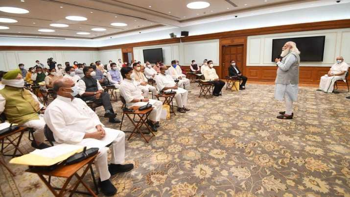 PM Modi's cabinet expansion took place on Wednesday.