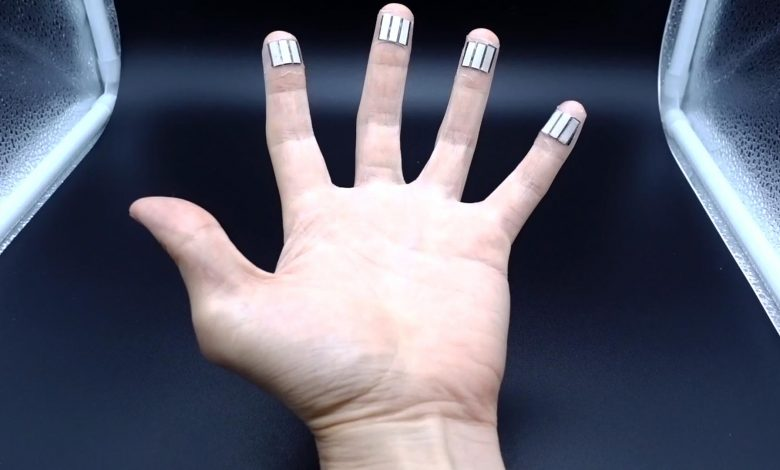 New Device Harvests Power From Your Sweaty Fingertips While You Sleep