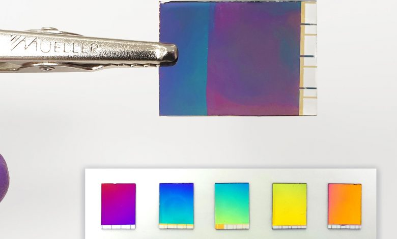 New Electronic Paper Displays Brilliant Colors With Minimum Energy Consumption