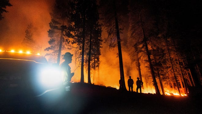New fire warnings in West; California power outages