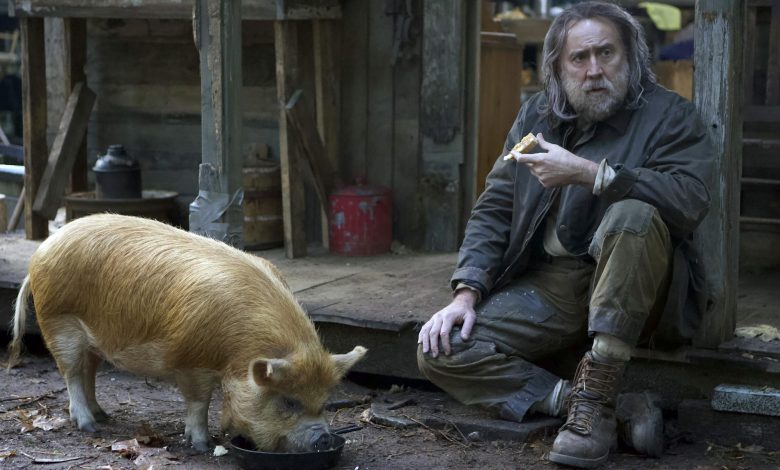 Nicolas Cage talks the foodie drama 'Pig' and his own favorite foods