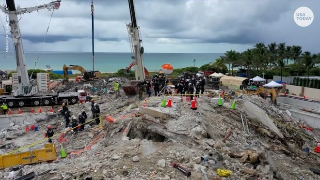 Dozens of people are still unaccounted for after the partial collapse of an oceanside condo in Surfside, Florida.