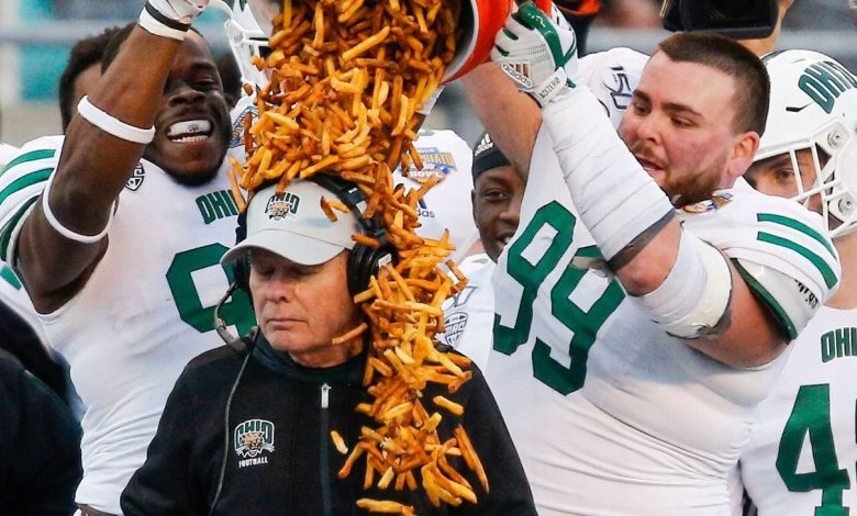Ohio Bobcats' Frank Solich, winningest football coach in MAC history, steps down for health issues