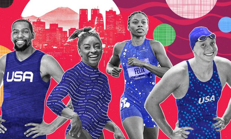 Olympics 2021 -- The Team USA athletes to watch in Tokyo