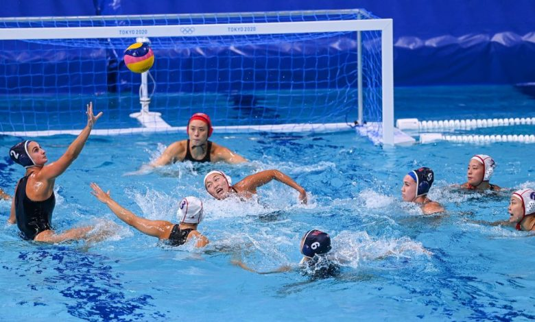 Olympics 2021 - U.S. Water Polo makes history with 25-4 win over Japan before Spain top record