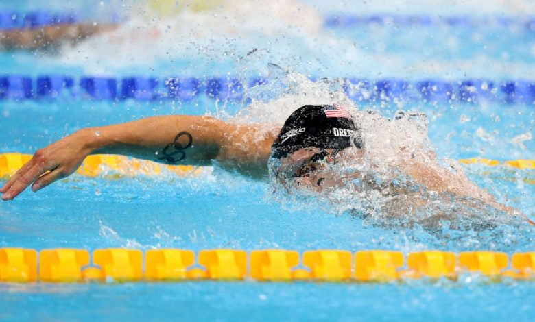 Olympics 2021 live updates - Caeleb Dressel takes 100 freestyle gold, Bobby Finke wins 800 free, golf tees off, plus more from Tokyo