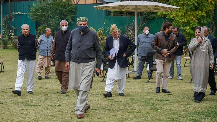 PAGD leaders meet in Srinagar, first time after PM's all-party meeting on J&K