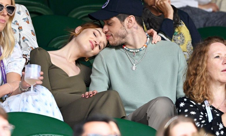Pete Davidson and Phoebe Dynevor Embrace While Making First Public Appearance as a Couple at Wimbledon