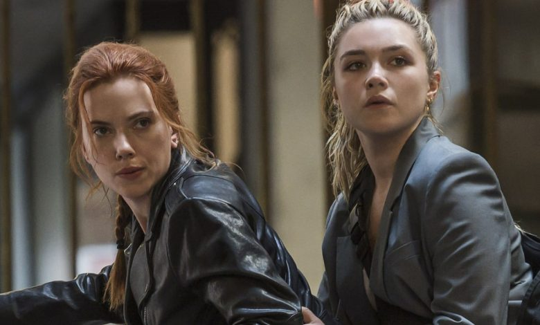 Scarlett Johansson says Black Widow 'goes out on a high note' as torch passes to Florence Pugh