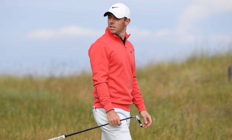 Scottish Open shenanigans - Spectator takes swings with club from Rory McIlroy's bag