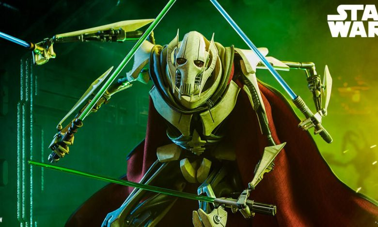 Sideshow's General Grievous statue will make a fine addition to your collection