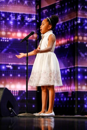 """Victory Brinker performs on """"America's Got Talent."""""""