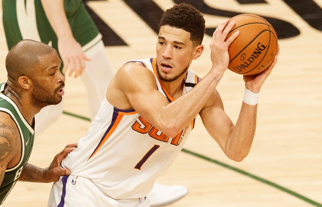 Devin Booker had his worst shooting night of the playoffs in the Suns' Game 3 loss.