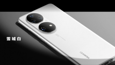 The Huawei P50 has a Snapdragon 888 and two huge camera bumps