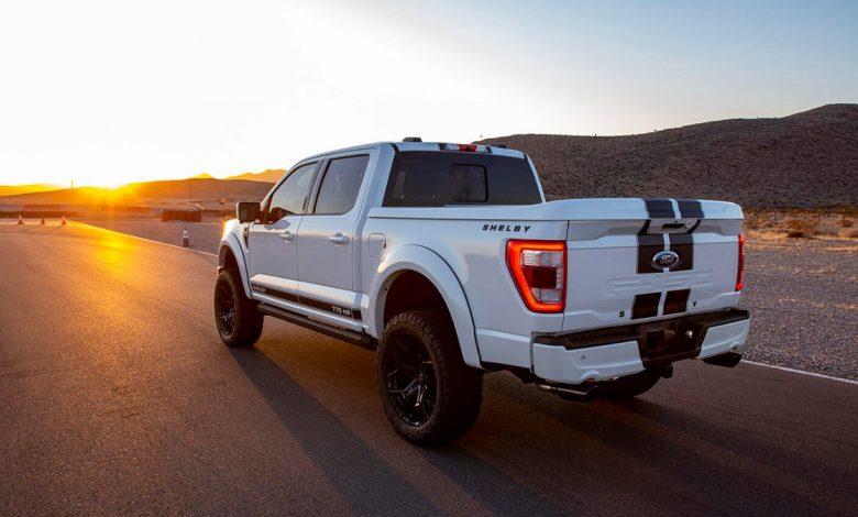 The Shelby Ford F-150 is a true muscle truck     - Roadshow