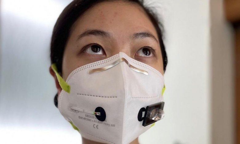 These face masks with biosensors could detect COVID-19 in your breath