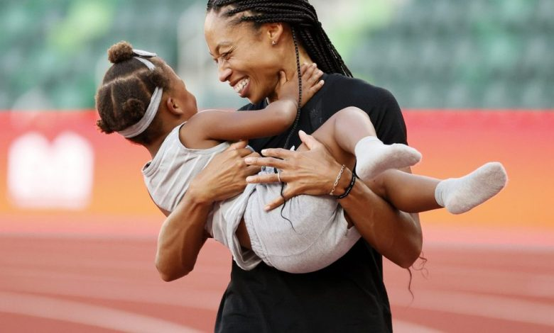 Tokyo Olympic moms: Athletes are embracing motherhood like never before