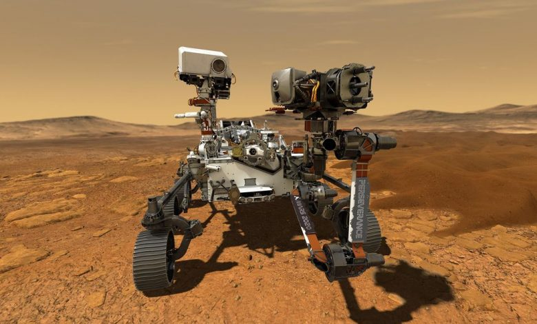 Tracking NASA's Mars Perseverance rover, a year in