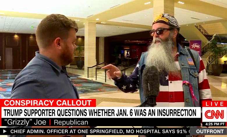 Trump supporter at CPAC rails against election fraud lies: 'Show me the freakin' Kraken'