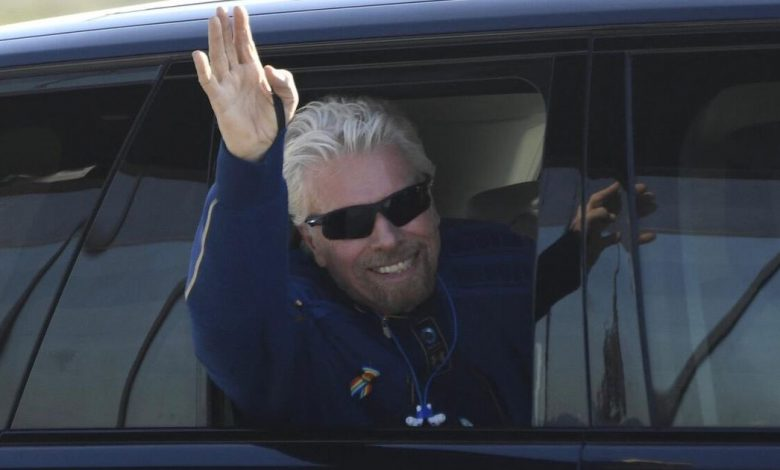 Virgin Galactic founder Richard Branson finally touches space, returns safely