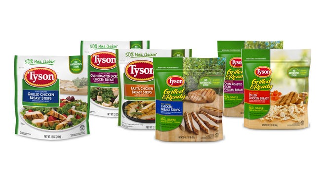 Tyson Foods is recalling approximately 8.5 million pounds of frozen, cooked chicken products for possible listeria contamination.