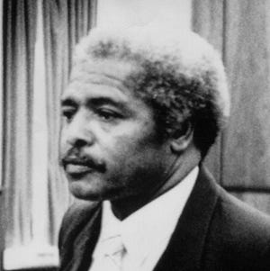 The Rev. Wilbert Thomas listens to the verdict finding him guilty of using beatings and sex to control his religious followers in three states in 1995 in Trenton, N.J. Thomas died Wednesday in Akron at age 91.