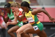 Jamaica's Shelly-Ann Fraser-Pryce is looking to become the first woman to win three Olympic gold medals in the 100m.