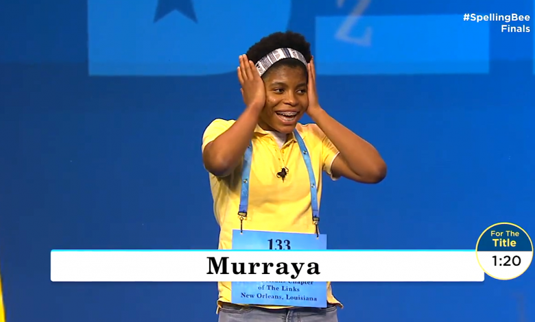 Zaila Avant-garde becomes first African-American to win Scripps Spelling Bee