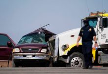 10 people dead after van carrying migrants crashes