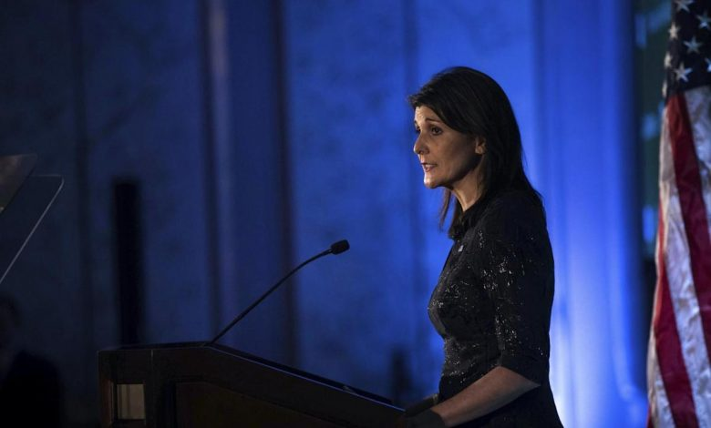 Nikki Haley won't 'put it past' UN to 'promote the Taliban' with credentialed membership