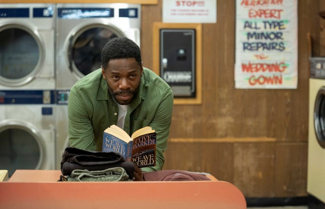"""William Burke (Colman Domingo) is a longtime resident of Chicago's Cabrini-Green housing projects and helps Anthony McCoy (Yahya Abdul-Mateen II) understand who """"Candyman"""" is."""
