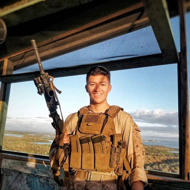Coachella Valley man, Hunter Lopez, 22, was killed in the bomb attacks in Kabul, Afghanistan, on Aug. 26, 2021.