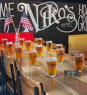 Niko's Bar & Gyros is donating one dollar for every beer they sell until September 11. The funds will go toward military families and charities.