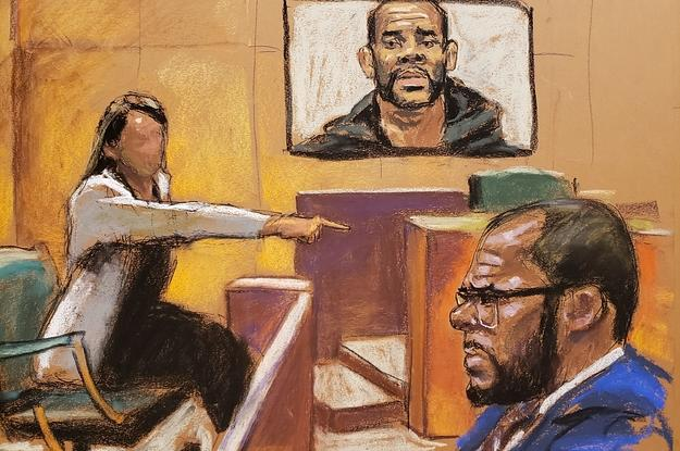 A Woman Testified R. Kelly Raped Her When She Was 17, Days After He'd Married Aaliyah
