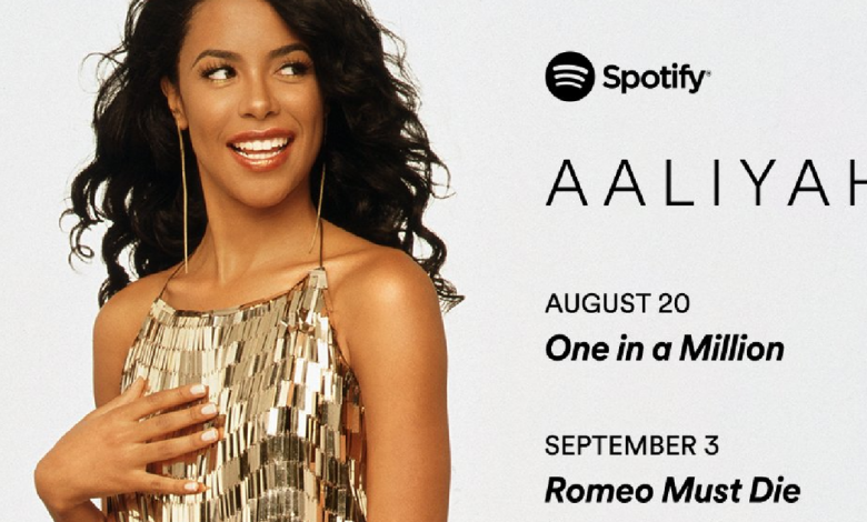Aaliyah's music finally coming to streaming, 20 years after her death