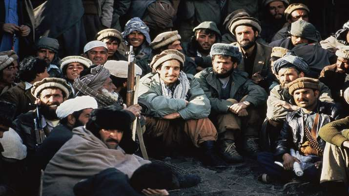 In this 1984 file photo, Afghan guerrilla leader, Ahmad