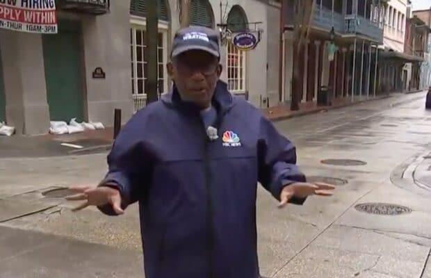 Al Roker Jokes With Fans Worried He's Too Old to Report From Hurricane Ida: 'Screw You!' (Video)