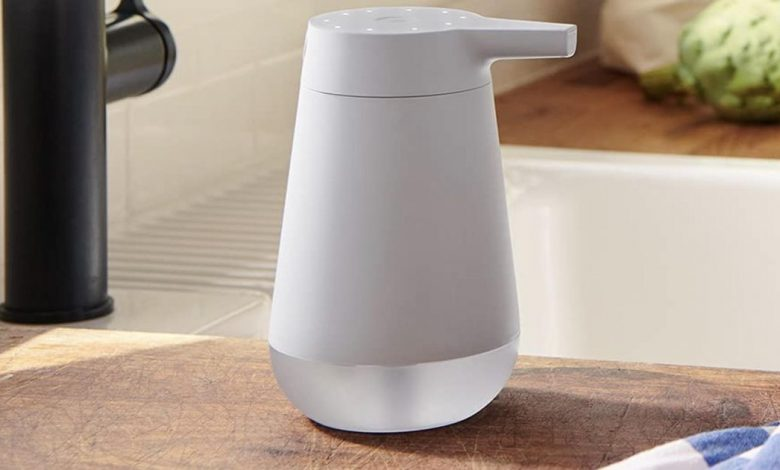 Amazon's smart soap dispenser has a timer to ensure a 20-second hand wash