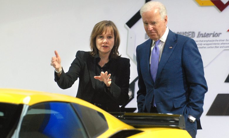 Biden pushes for EVs to make up 40% or more of U.S. auto sales by 2030