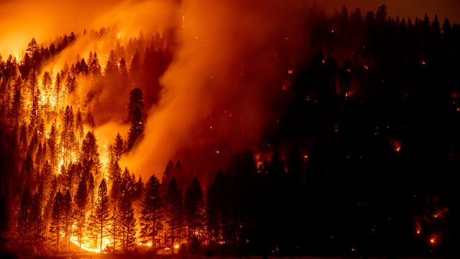 Caldor Fire near Lake Tahoe basin is 'No. 1 priority' for firefighters