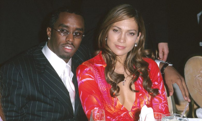 Diddy explains that J.Lo throwback pic
