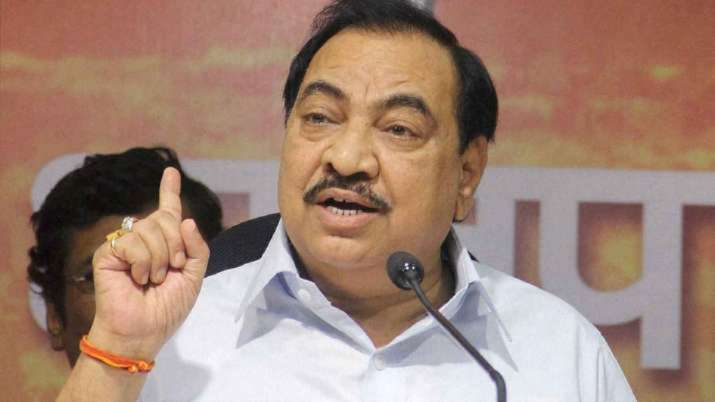 The ED is probing Khadse in an alleged land grab deal of